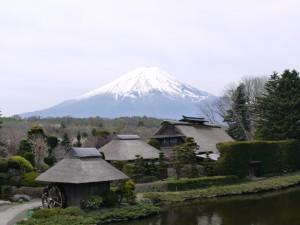 富士山~忍野八海より