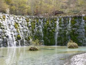 花の都公園 - 明神の滝